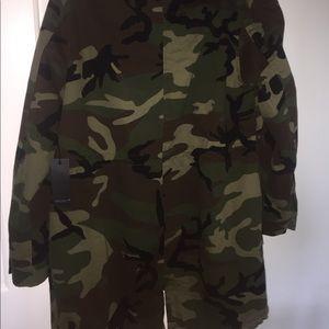 Forever 21 Jackets & Coats - Oversized Camo Utility Jacket